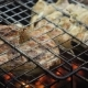 Grilled Meat on the Flaming Grill - VideoHive Item for Sale