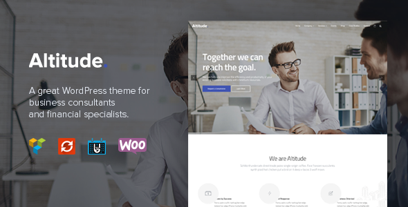 Altitude - Business Training, Coaching & Consulting WordPress Theme