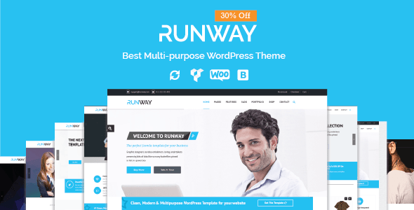 Runway - Responsive Multi-Purpose WordPress Theme - Corporate WordPress