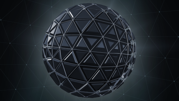 Hi-Tech Futuristic Ball