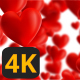 Valentine Hearts Animated Background 1 - VideoHive Item for Sale