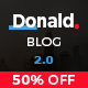 Donald - Creative and Clean WordPress Blog Theme - ThemeForest Item for Sale