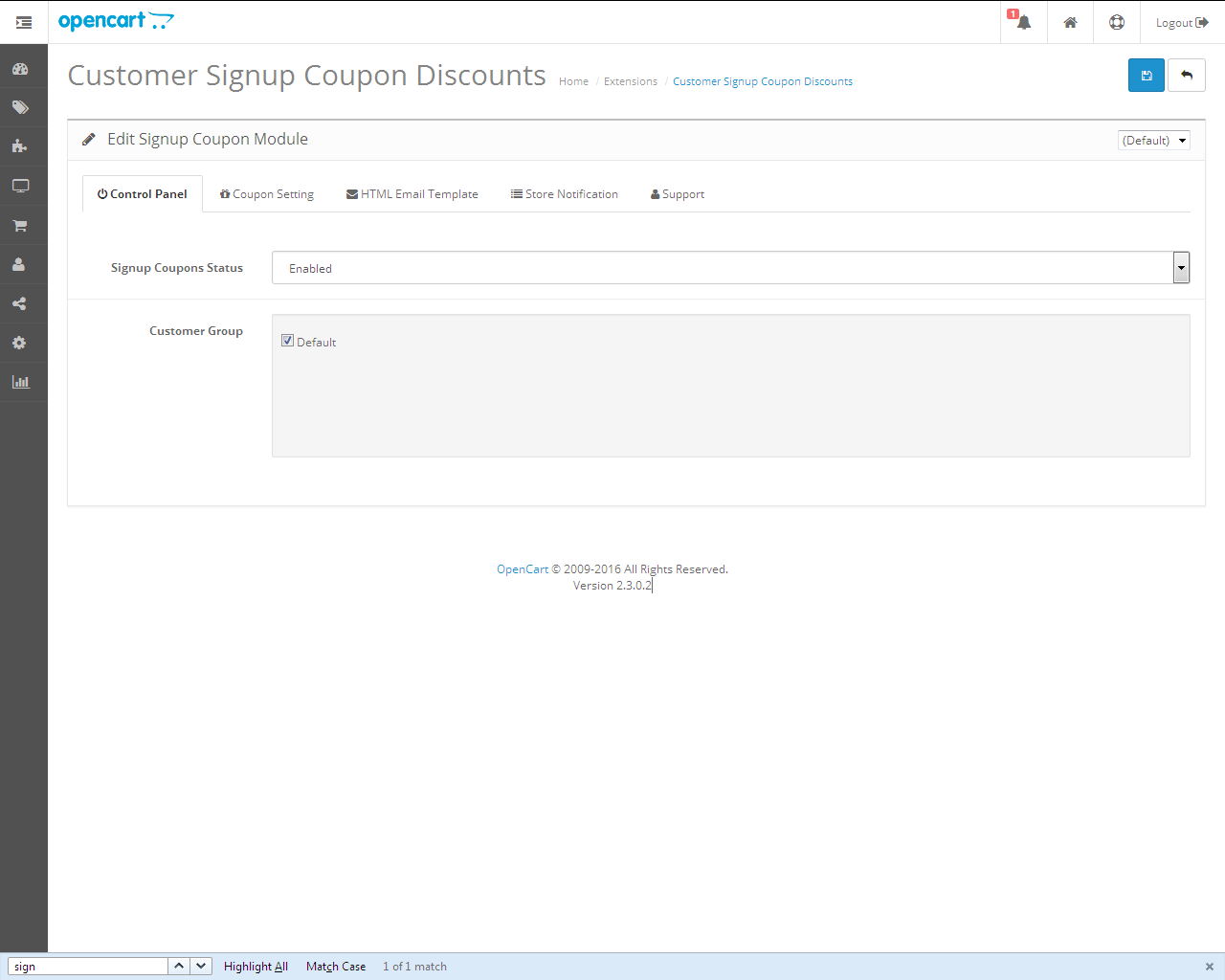 Get Discount Coupon On Registration by extensionsbazaar   CodeCanyon