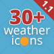 30+ Animated Weather Icons