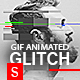 Gif Animated Glitch - Photoshop Templates - GraphicRiver Item for Sale