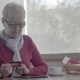 Active Lifestyle in Retirement: Mature Woman Talking on a Mobile Phone - VideoHive Item for Sale