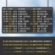 Airport Flip Arrivals Information Scoreboard - GraphicRiver Item for Sale