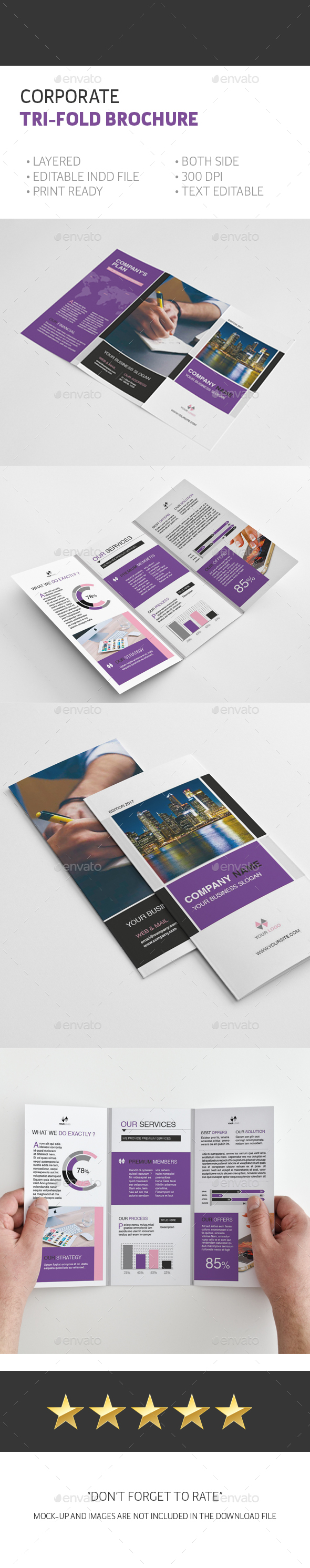 Trifold A4 brochure by Atabeyli | GraphicRiver