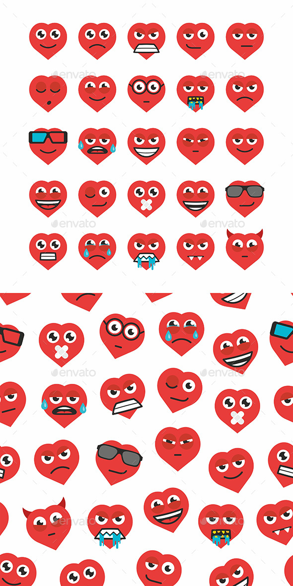 Heart Emoticons - Miscellaneous Characters