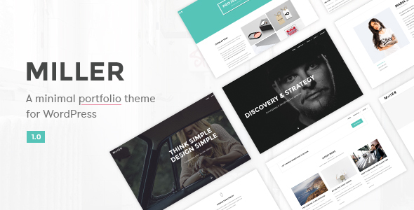 Miller – Multipurpose WordPress Theme
