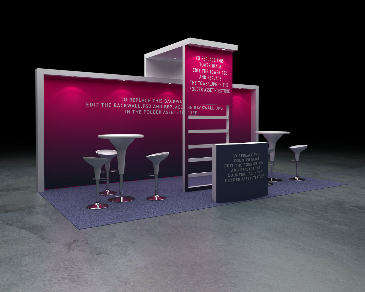 Exhibition Booth Psd : Exhibition booth perimeter by brakster docean