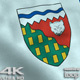 Northwest Territories Flag 4K - VideoHive Item for Sale