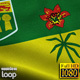Saskatchewan Flag HD - VideoHive Item for Sale