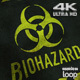 Biohazard Black 4K - VideoHive Item for Sale