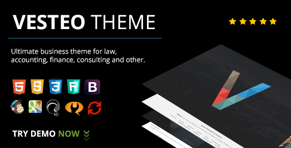 Vesteo Business Multi-Purpose Responsive Theme
