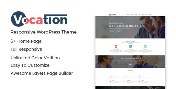 Vocation – Corporate WordPress Theme