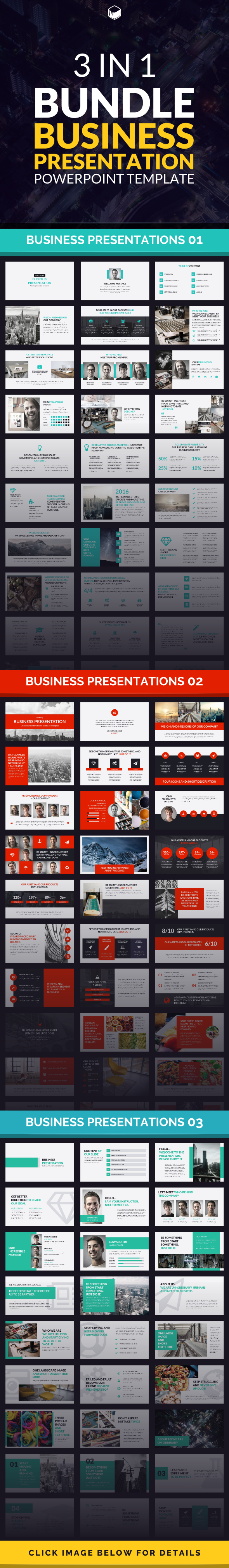 Business Presentation Bundle - Business PowerPoint Templates