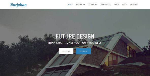 Nurjahan - Creative Architecture & Interior HTML5 Template - Business Corporate