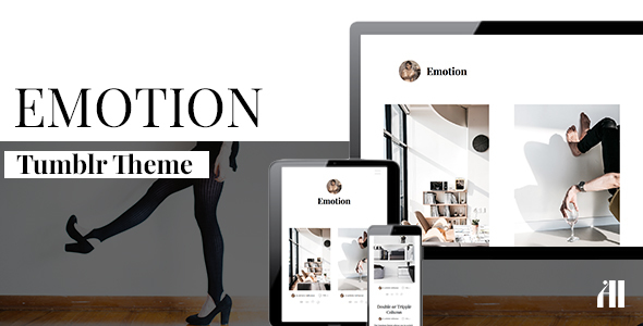 Emotion – Clean Tumblr Theme