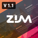 Zim - Multi-Purpose OnePage agency Template - ThemeForest Item for Sale