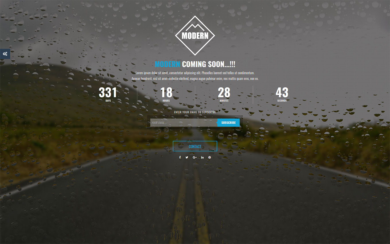 Modern Coming Soon Html Template V3 By Modernthemes Themeforest