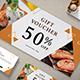 Restaurant Voucher - GraphicRiver Item for Sale