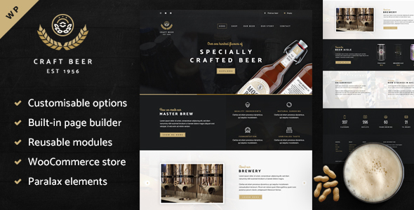 Craft Beer Nation - WooCommerce Theme - WooCommerce eCommerce