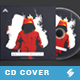 Whiteout Mixtape - CD Cover Artwork Template - GraphicRiver Item for Sale