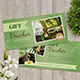 Spa Voucher - GraphicRiver Item for Sale