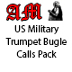 US Military Trumpet Bugle Calls Pack