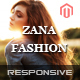 Zana Fashion - Responsive Magento Fashion Theme - ThemeForest Item for Sale