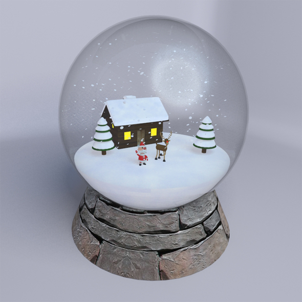 Snow Globe - 3DOcean Item for Sale