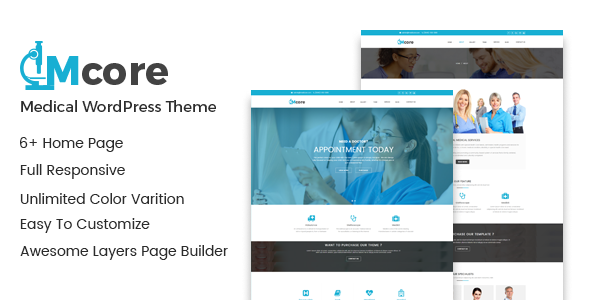 Medicore - Medi Care Medical WordPress Theme