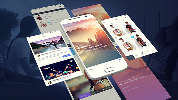 Videohive - Android App Presentation Template 19404024