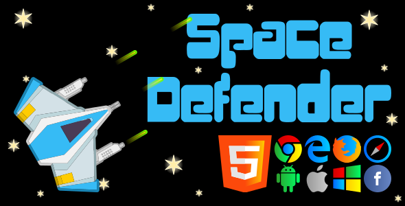 Space Defender - CodeCanyon Item for Sale