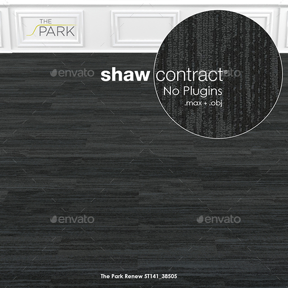 Shaw Contract Carpet The Park Renew No 2 - 3DOcean Item for Sale
