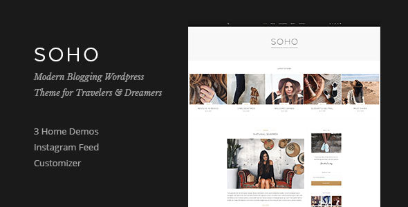 Soho – WordPress Blog Theme