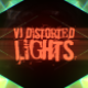 VJ Distorted Lights (4K Set 15)
