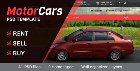MotorCars – Rent-Sell-Buy Cars