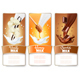 Set of Three Labels in Milk Splashes - GraphicRiver Item for Sale