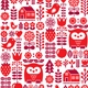 Scandinavian Seamless Pattern - GraphicRiver Item for Sale