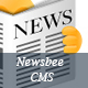 NewsBee - Fully Featured News CMS with bootstrasp - PHP / MySQL