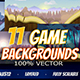 11 Game Backgrounds Pack III - GraphicRiver Item for Sale