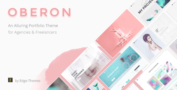 Oberon – An Alluring Portfolio Theme for Agencies and Freelancers
