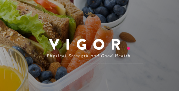 Vigor - A Responsive News Magazine Blog WordPress Theme