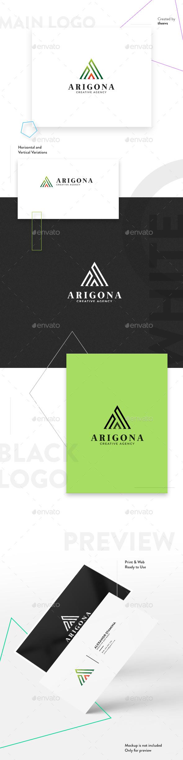 Arigona Logo - Letters Logo Templates