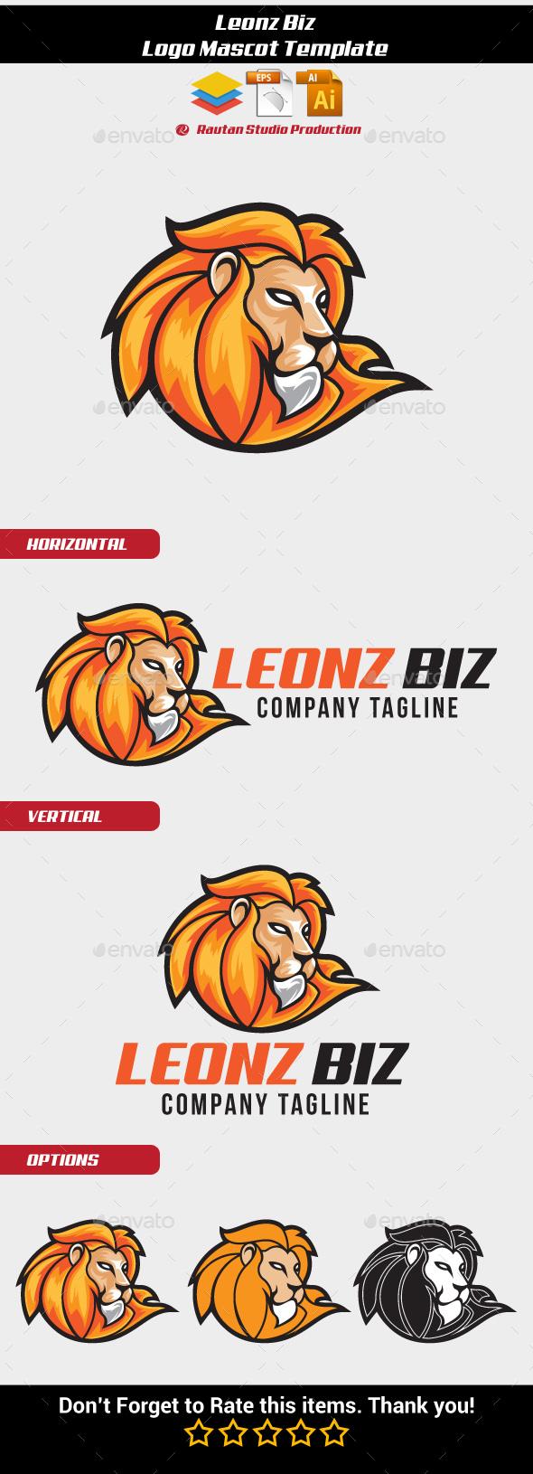 Leonz Biz - Animals Logo Templates