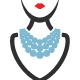 Necklace Fashion Logo