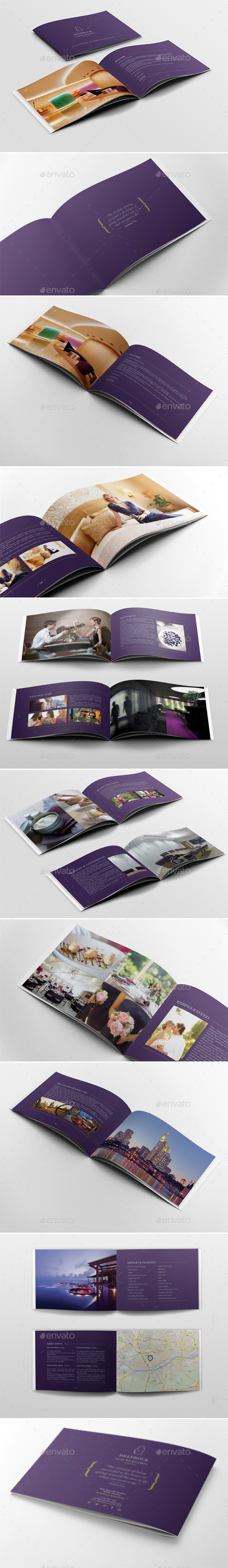 Brochure Booklet Template - Brochures Print Templates