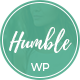 Humble - Modern Personal WordPress Blog Theme Nulled